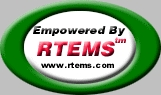 Empowered By RTEMS Logo